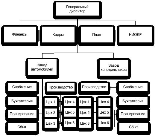 схема дивизиональной